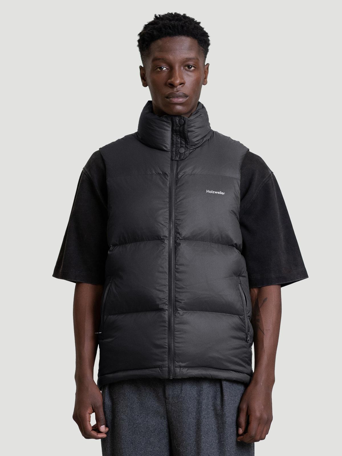 Ail Unisex Down Vest  Black 1