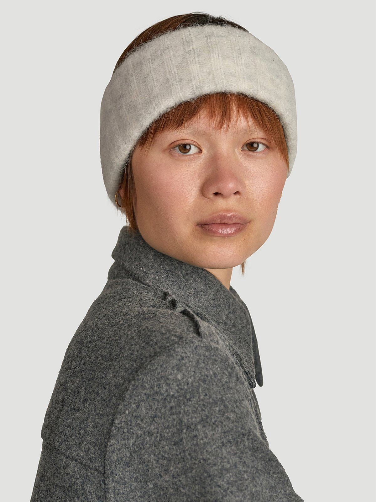 Aleah Headband  Grey 0