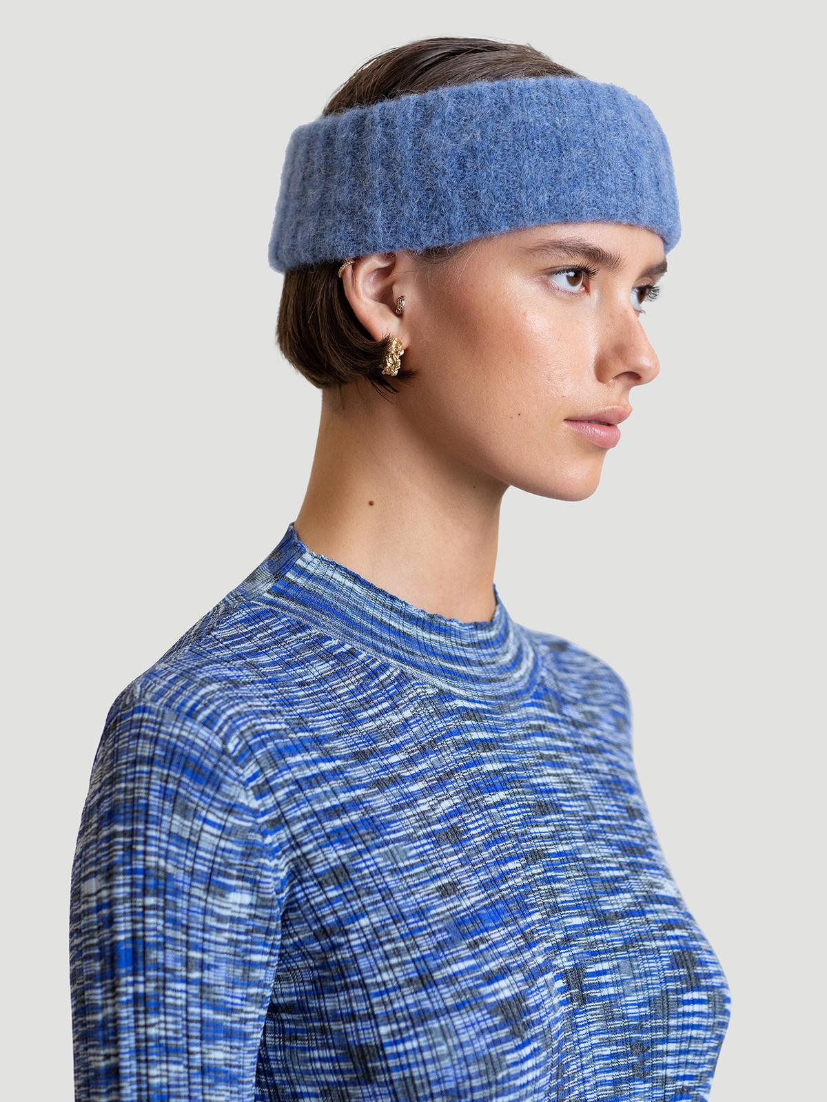 Aleah Headband  Lt. Blue 0