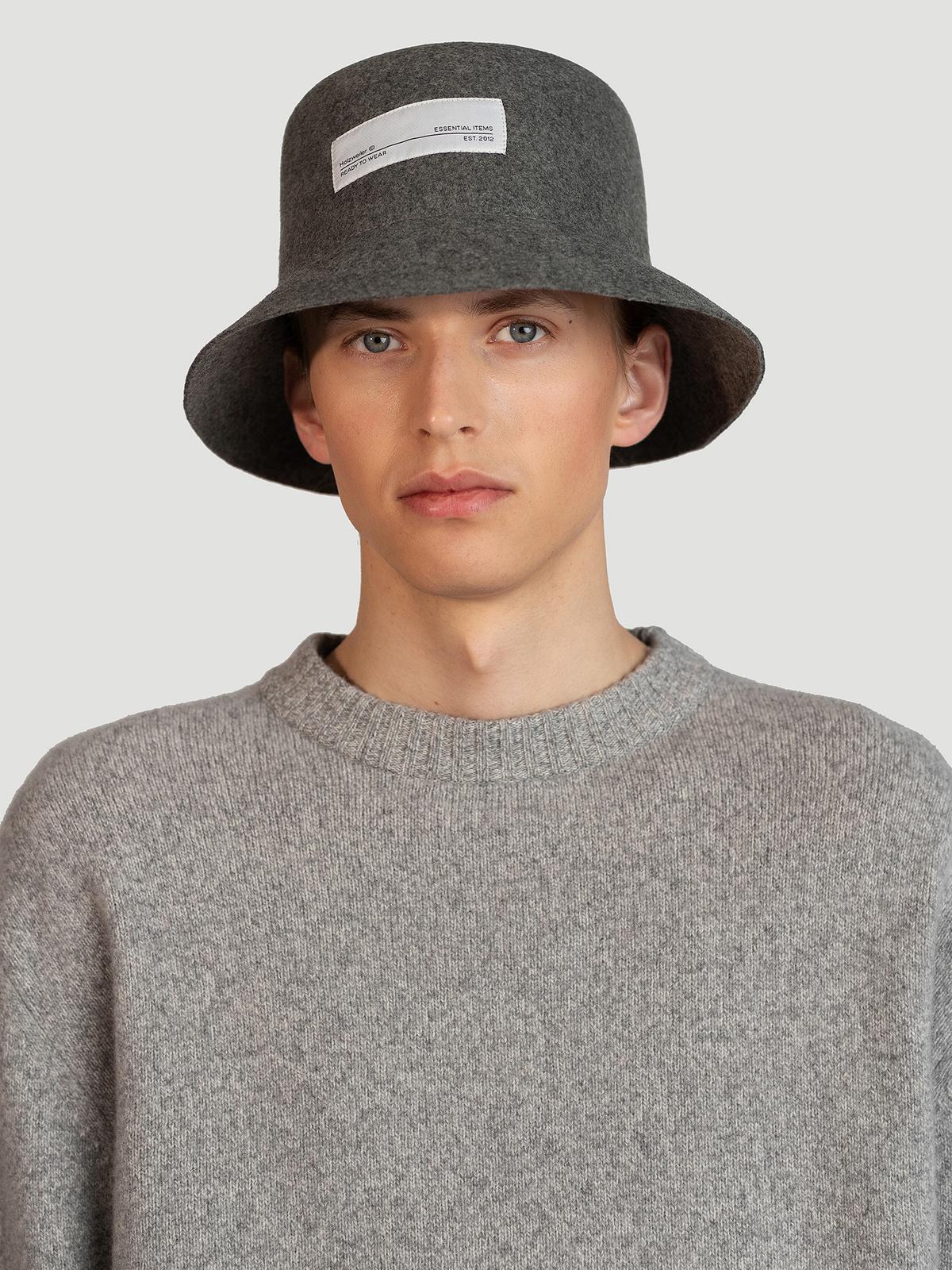 Greger Bucket Hat  Grey 2
