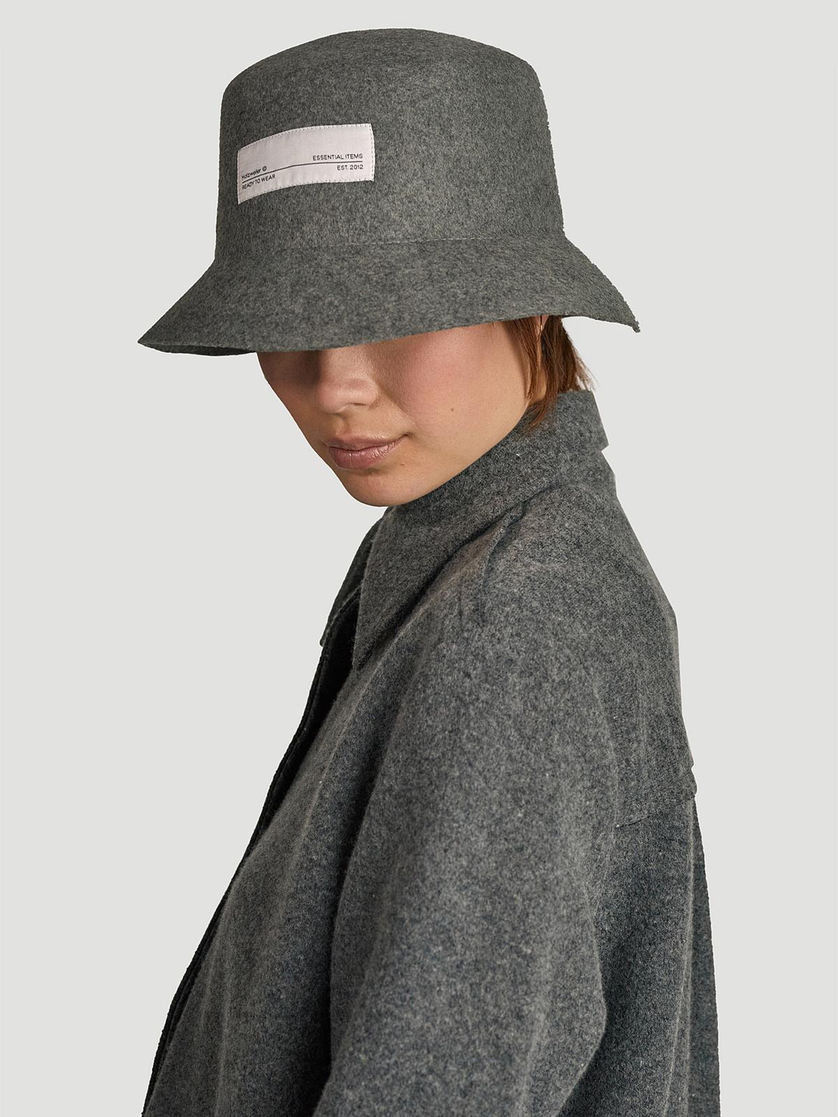 Greger Bucket Hat  Grey 1