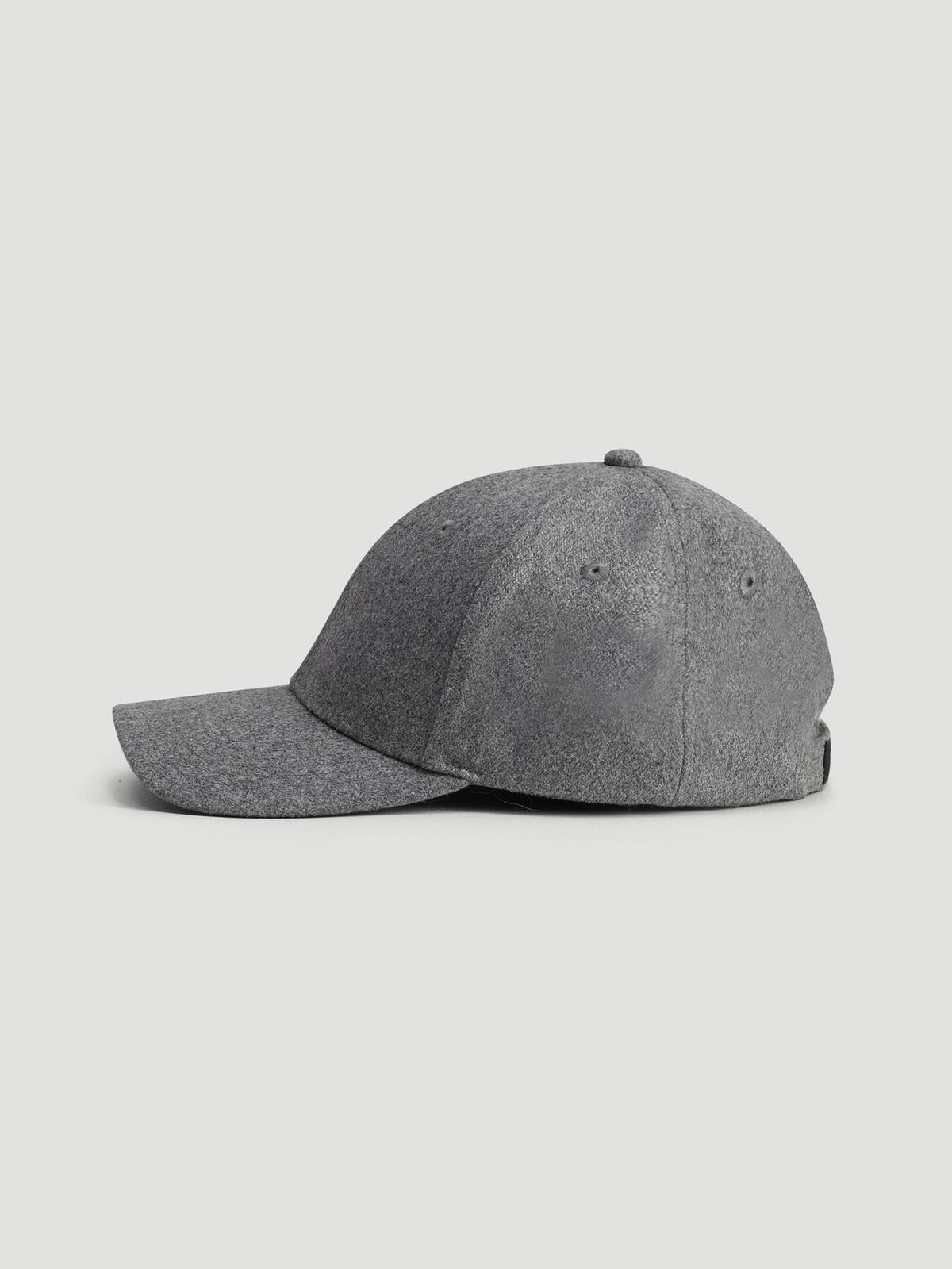 Holzweiler Wool Caps  Grey 0