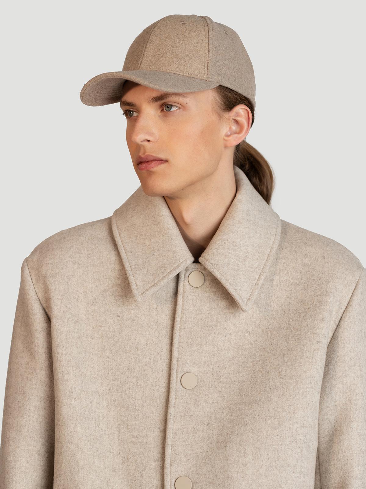 Holzweiler Wool Caps  Beige 1