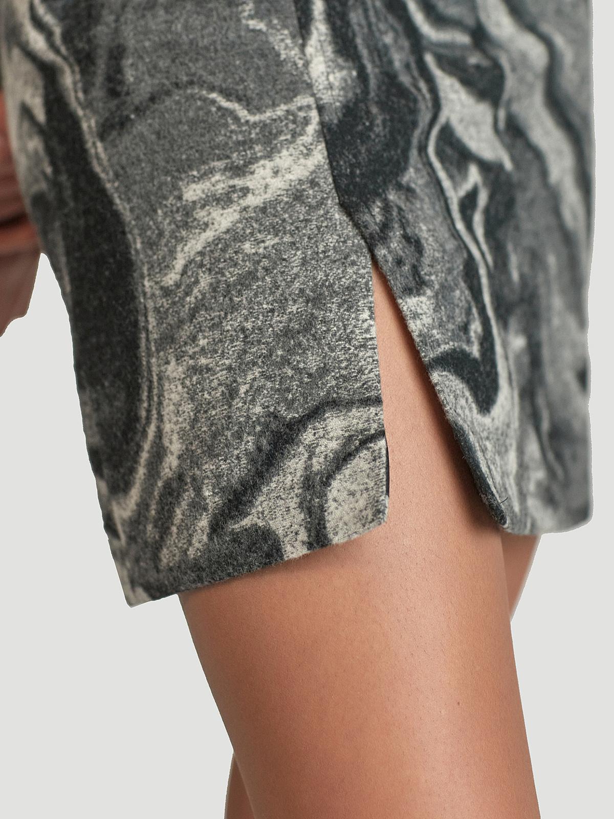 Bella Skirt  Grey Mix 1