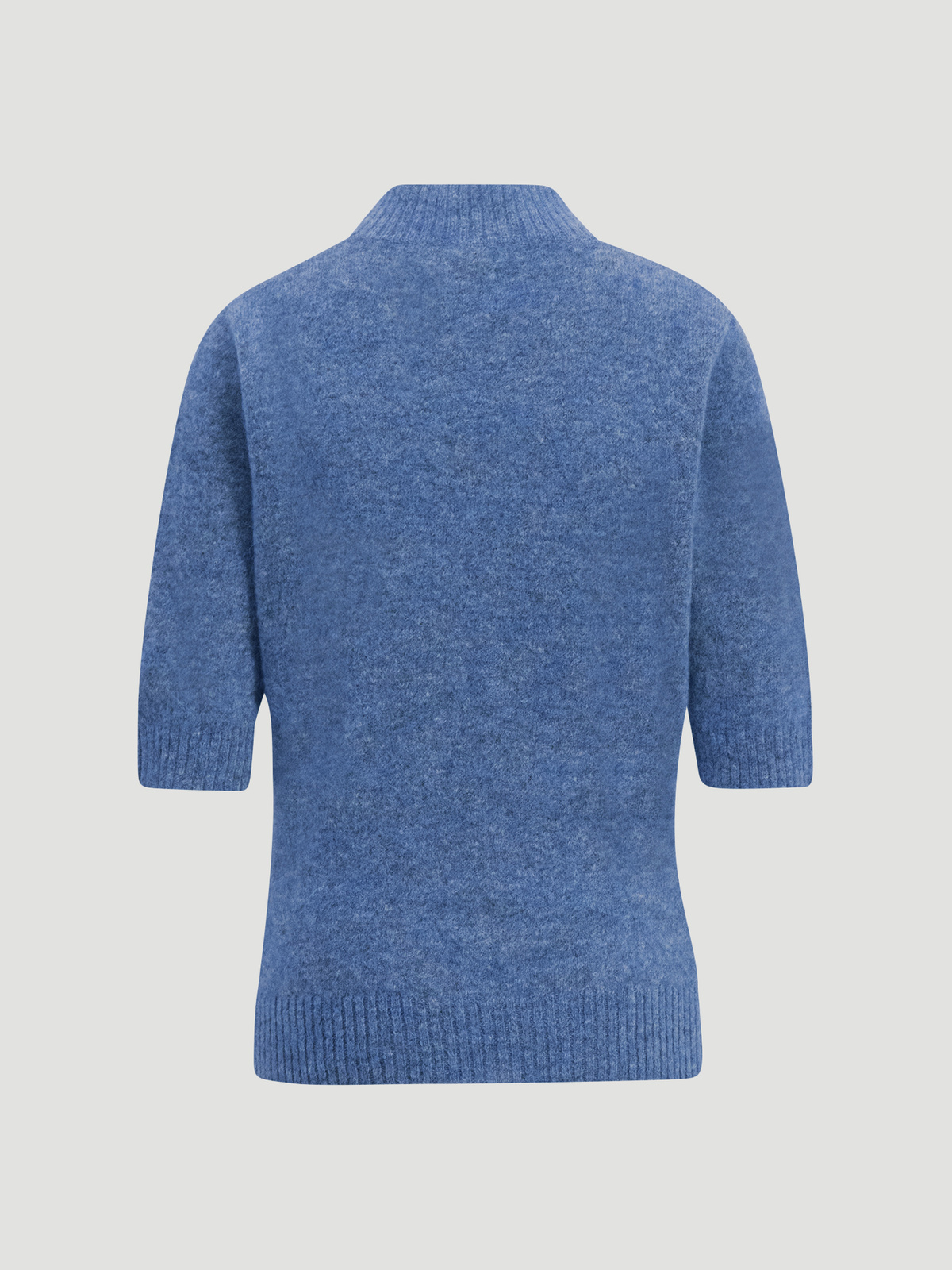 Puff Knit Tee  Blue 6