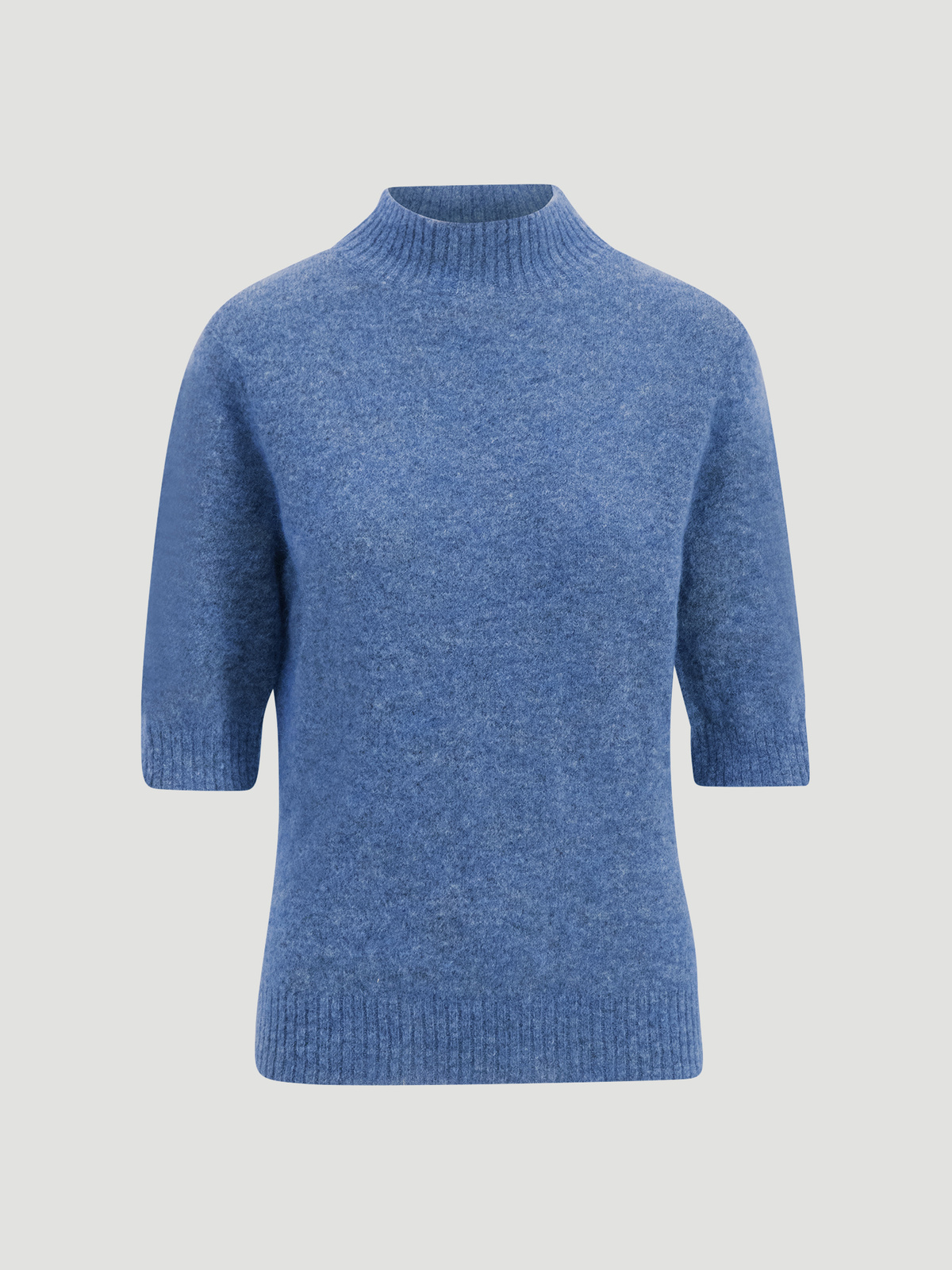 Puff Knit Tee  Blue 5