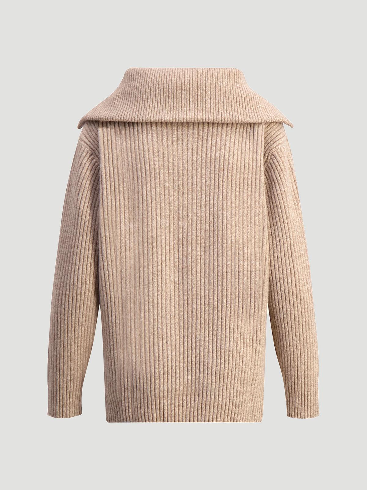 React Knit Sweater  Sand 6