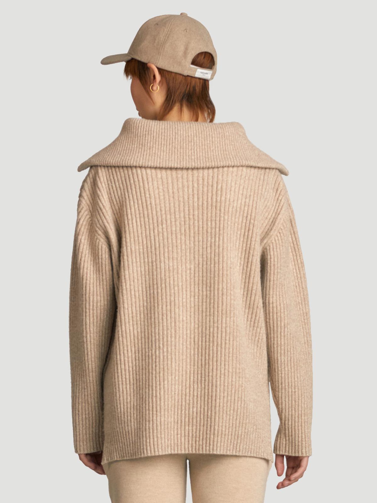 React Knit Sweater  Sand 4